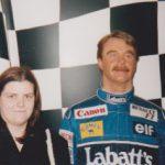 meeting Nigel Mansell's wax figure